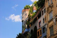 Hundertwasser House, Vienna, Austria Royalty Free Stock Image
