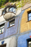 Hundertwasser House in Vienna, Austria Stock Photo