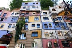 Hundertwasser House in Vienna, Austria Stock Image