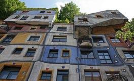Hundertwasser house, Vienna Stock Photos