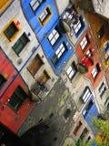 Hundertwasser Krawina House Vienna Royalty Free Stock Image