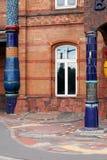 Hundertwasser railway station Uelzen Stock Photography