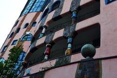 Hundertwasser ` s zieleni cytadela Magdeburski Fotografia Royalty Free