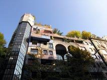 Hundertwasser in Vienna. Royalty Free Stock Photography
