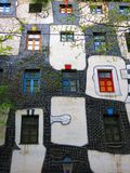 Hundertwasser village. Royalty Free Stock Photos