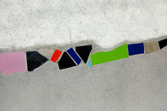 Hundertwasser wall model Vienna Austria Stock Images