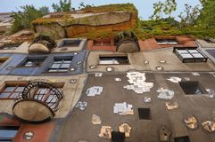 Hundertwasserhaus. Stock Photography