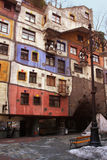 Hundertwasserhaus stock photo