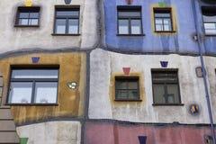 Hundertwasserhaus Stock Photography