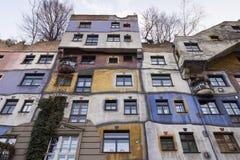 Hundertwasserhaus Royalty Free Stock Photography