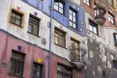 Hundertwasserhaus Stock Photo