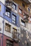 Hundertwasserhaus Stock Photos