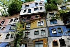 Hundertwasserhaus Royaltyfria Bilder