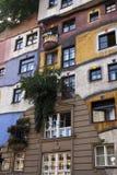 Hundertwasserhaus Fotografering för Bildbyråer