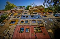 Hundertwasserhaus stockfoto