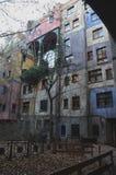 Hundertwasserhaus Royalty-vrije Stock Afbeelding