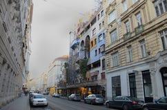 Hundertwasserhaus Royalty-vrije Stock Afbeeldingen