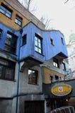 Hundertwasserhaus Stock Foto