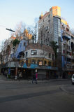 Hundertwasserhaus Fotografia Stock Libera da Diritti