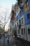 Hundertwasserhaus Stock Afbeeldingen