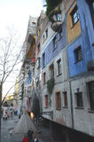 Hundertwasserhaus Стоковое Фото