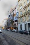 Hundertwasserhaus Stock Fotografie