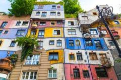 Hundertwasserhaus em Vienna Imagem de Stock