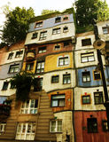 Hundertwasserhaus em Vienna Imagens de Stock