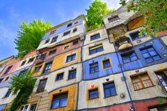 Free Hundertwasserhaus, Vienna Royalty Free Stock Images - 97079209