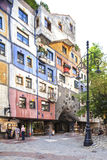 Hundertwasserhaus in Vienna, Austria Royalty Free Stock Photos