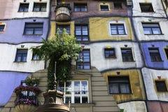 Hundertwasserhaus, Vienne Photographie stock