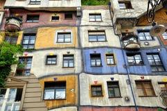 Hundertwasserhaus Wien Stock Images