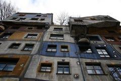 Hundertwasserhaus Wien Viena Foto de Stock Royalty Free