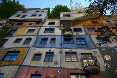 Hundertwasserhouse Stock Photos
