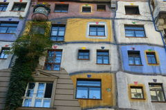 Hundertwasserhouse Royalty Free Stock Photo