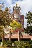 Hundertwasserhuis, Slechte Soden, Duitsland royalty-vrije stock fotografie