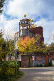 Hundertwasserhuis, Slechte Soden, Duitsland Royalty-vrije Stock Foto's