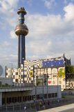 Hundertwasserturm de Vienne image stock