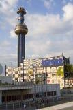 Hundertwasserturm von Wien Stockbild