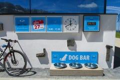 Hundestange Rifugio Emilio Comici Lizenzfreie Stockbilder