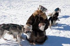hundflicka Royaltyfri Bild