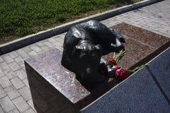 Hundgjutjärn - Ryssland - Berezniki 10 Juni 2017 Royaltyfria Foton