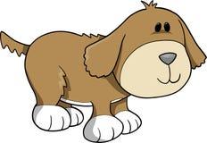 hundillustrationvektor stock illustrationer