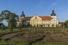 Hundisburg Palace and Baroque Garden in Saxony-Anhalt. Germany Stock Photos
