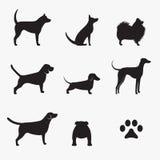 Hundkapplöpningsymboler Royaltyfri Fotografi