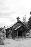 Hundlapp USA - gammalt kyrkligt hus Royaltyfri Bild