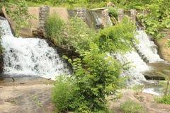 Hundlapp USA - vattenfall Arkivbilder
