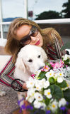hundmodell royaltyfria bilder