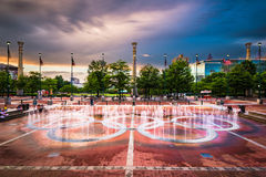 hundraårs- olympic park Royaltyfri Foto