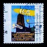 Hundraårsdag av den internationella rymdutställningen, serie, circa 2009 Arkivfoto